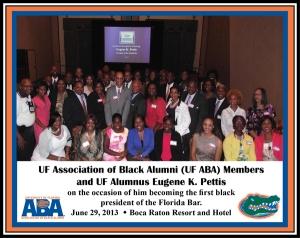 UF ABA Alumni and Pettis Family